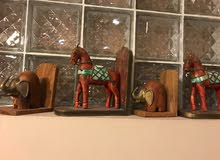 Antique Table Lamps and Book Stand for Sale