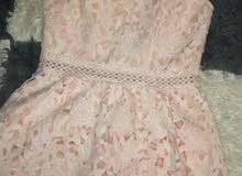 فستان ناعم قصير جديد