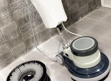 مكنسه كهربائيه لتنظيف السراميك و الانترلوك  استخدمة لمره واحده