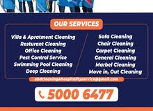 A complete cleaning, Sanitizer and Pest control service in Qatar