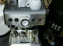 لللبيع مكينه قهوه نوع بريفلي استخدام بسيط شبه جديده