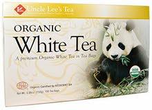 الشاي الابيض العضوي بوكس 100 كيس