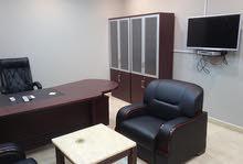 مقر مكتبي للايجار بالاثاث كامل ب2500 شهري