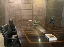 مكتب مدير فخم جدا خشب طبيعي زان