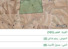 للبيع ارض 4.6 دونم في قعفور رجم ضاعن