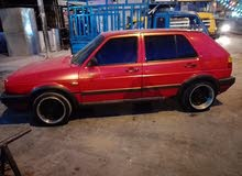 Volkswagen Golf 1991 For sale - Red color