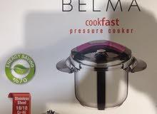 طنجرة ضغط ماركة BELMA صناعة تركيا ، الحجم 10 لتر
