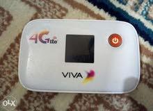 راوتر فيفا 4G مفتوح لكل الشبكات