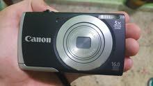 كاميرا كانون 16 ميكابكسل زوم 5x مع رام مع شاحنة