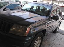 Green Jeep Cherokee 2000 for sale