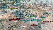 قطعة ارض في منطقة الذهيبــة الغربية خلف جامعة الاسراء طريق المطار للبيـــــع