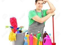 تنظيف الفلل المجالس ازاله الدهانات