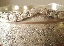 طقم شاى قديم من الفضة
