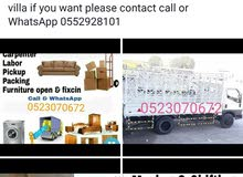 I have pickup truck for rent shifting room office villa if you want please conta