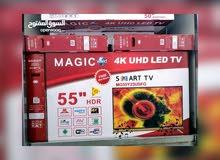 شاشات تلفزيون MAGIC. عادي. او سمارت