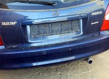 Mazda 323 2001 For sale - Blue color