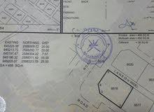 أرض في العامرات - النهضة مربع 12 - المساحة 488 متر مربع