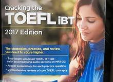 كتاب امتحان توفل IBT الدولي اخر اصدار 2017