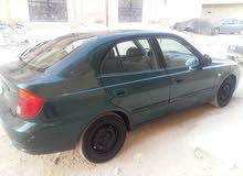 Hyundai Accent 2004 For sale - Green color