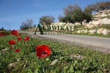 ارض للبيع في أم الدنانير خلف جامعة عمان الأهلية  بمساحة 677 م