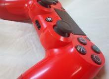 يد تحكم ps4 جديدة والأصلية لون احمر