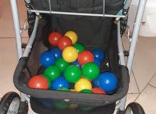 مجموعة مستلزمات اطفال مستعملة
