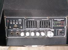مكبر صوت شبه جديد قوة2500w