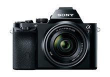 للبيع كاميرا سوني a7