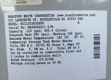 سخان امريكي كهربائي براد فورد وايت جديد عدد 2 وكالة شركة المؤشرات اربيل ، 3 فيز