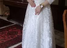 فستان عرس جديد ( قطعتين )