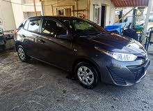 للبيع toyoto yaris Hatchback 2018 model لون كحلي
