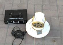 جهازين ليزر للحفلات والمناسبات