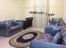 Seating room 7 seats غرفة جلوس 7 كراسي استخدام قليل جدا