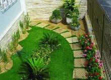 aménagement des espaces verts, fourniture et vent des plantes. travaux des vertes