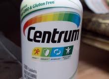 علبة فيتامينات سنتروم Centrum فيتامين أصلي 200 قرص متبرشمة وارد أمريكا من 3 ايام
