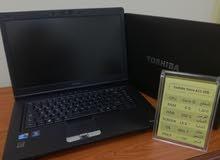 أجهزة لابتوب (توشيبا- ديل - اتش بي) مستعملة بحالة الجديد-نقبل الشيك المصدق