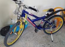 دراجتان للبيع 26و24 المانيات