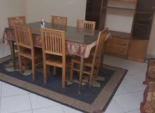 شقة مفروشة للايجار بسعر مناسب خلف محلات الراية والسراج مول