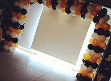 تنسيق بالونات اكسسوارات الحفلات أقواس بالونات استاندات بالونات