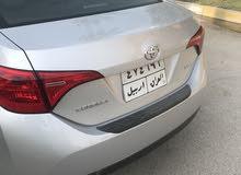 0 km mileage Toyota Corolla for sale