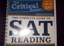 كتاب سات The critical Reader By Erica