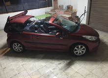 Maroon Peugeot 207 2008 for sale