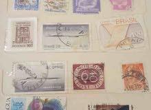 طوابع من دول مختلفه Stamps