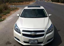 White Chevrolet Malibu 2013 for sale
