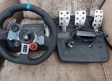 logitech steering wheel g29 مستعمل للبيع