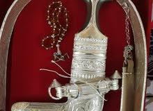 خنجر عمانية ذات قرن زراف هندي (صيفاني) صاافي ونظيف