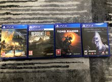 Tomb raider  resident evil shadow of Mordor