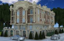 شقة للبيع 160م امامى بفيلا بالاحياء مدينة الشروق وبالتقسيط