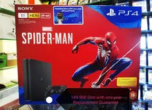 New PS4 1TB Slim Spiderman limited edition bundle