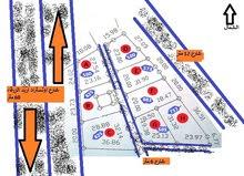 لقطة دونمين تجاري (2) من المالك على شارعين - بواجهة 65 متر تجاري على اوتستراد اربد الزرقاء